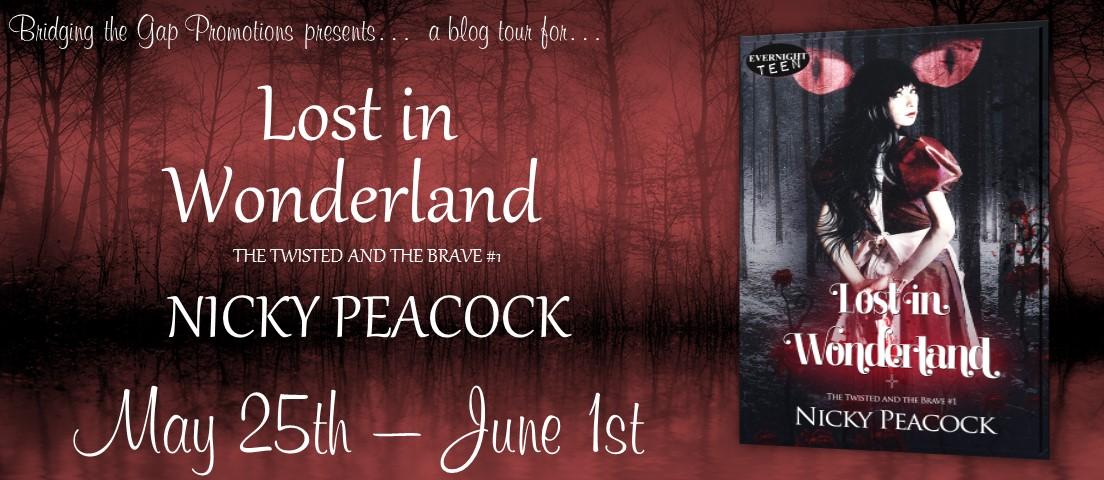 Lost in Wonderland by @NickyP_Author