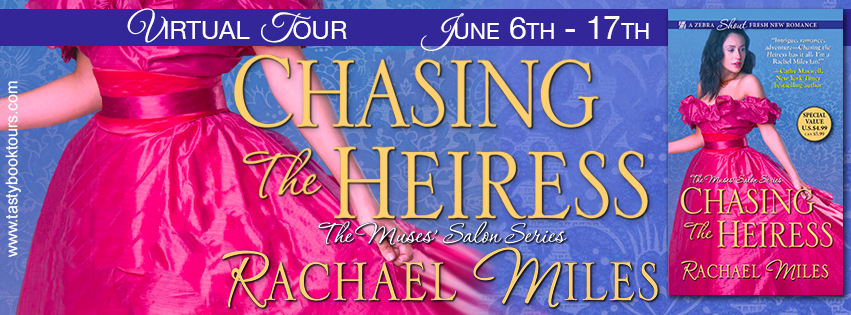 Review ~ Chasing the Heiress by @RachaelMiles