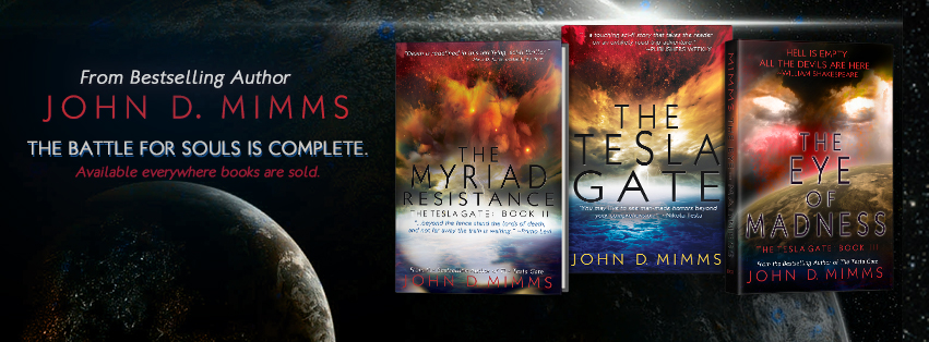 {Release Blitz} The Eye of Madness by @JohnDMimms