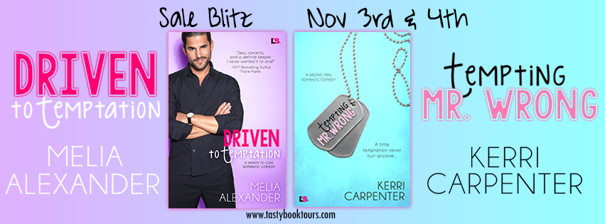 {Lovestruck Sales Blitz} Tempting Mr Wrong by @AuthorKerri and Driven to Temptation by @MeliaAlexander1