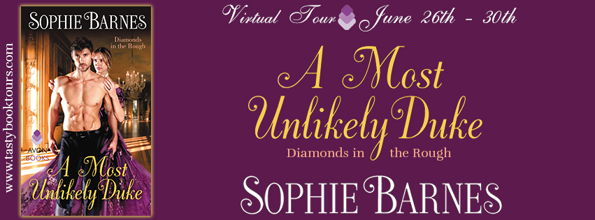 {Diamonds in the Rough Review} A Most Unlikely Duke by @BarnesSophie