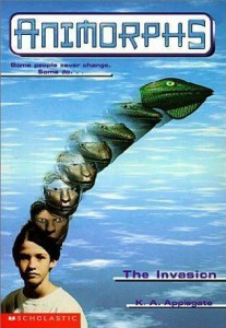 Animorphs by K.A. Applegate