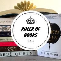 Ruler of Books Tag {Tag Thursday}