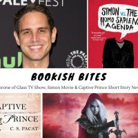 Throne of Glass TV Show, Simon Movie & Captive Prince Short Story News {Bookish Bites}
