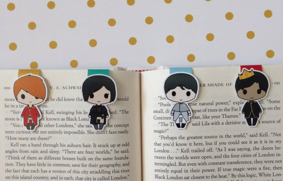 Happy Hello Art Bookmarks