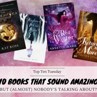 Ten Books That Sound Amazing But (Almost) Nobody's Talking About? {Top Ten Tuesday}