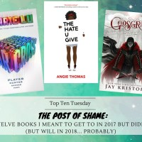 The Post of SHAME: Twelve Books I Meant To Get To In 2017 But Didn't (But Will in 2018... Probably) {Top Ten Tuesday}