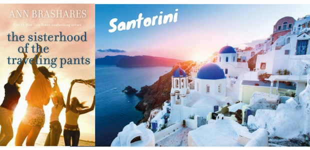 The Sisterhood of the Travelling Pants - Santorini