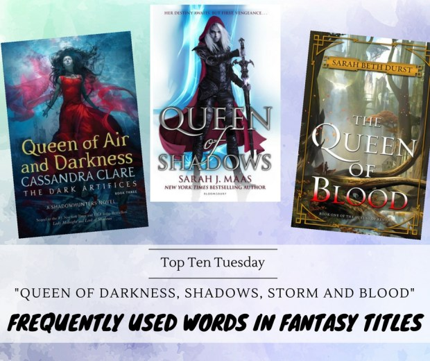 180424 Frequently Used Words in Fantasy Titles