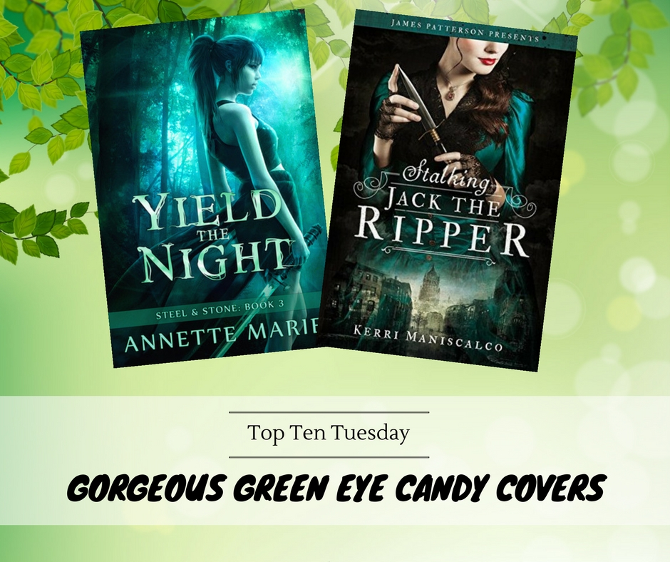 180508 Gorgeous green eye candy covers