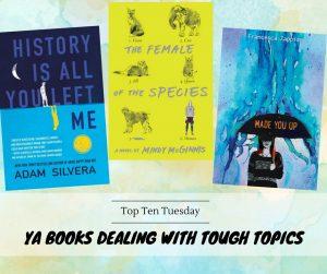180515 YA Books Dealing With Tough Topics