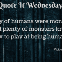 Vicious by V.E. Schwab {Quote It Wednesday}