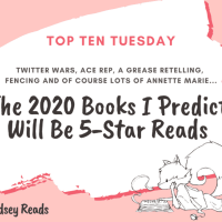 The 2020 Books I Predict Will Be 5-Star Reads {Top Ten Tuesday}