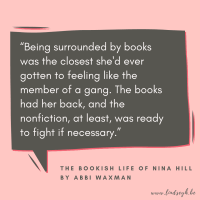 The Bookish Life of Nina Hill by Abbi Waxman {Quote It Wednesday}