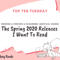 The Spring 2020 Releases I Want To Read {Top Ten Tuesday}