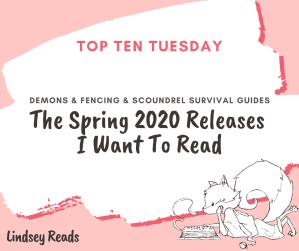 20200317 My Spring TBR