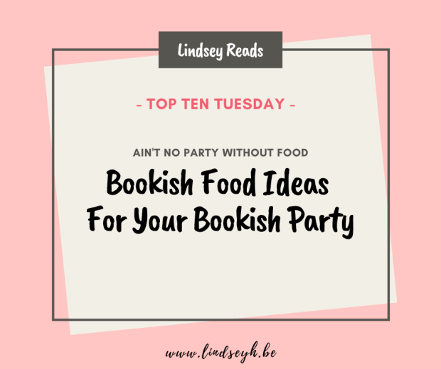 20200505 Bookish Food Ideas