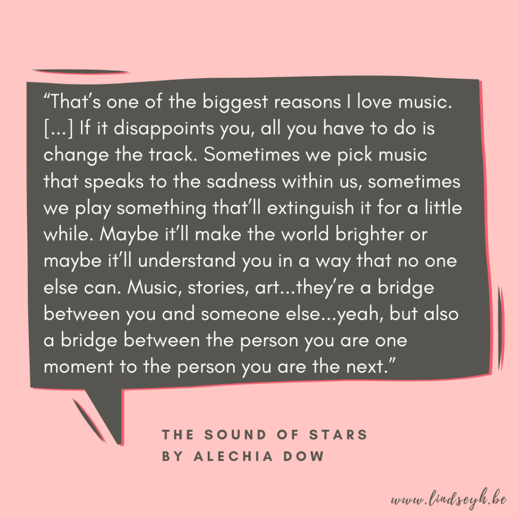 The Sound of Stars by Alechia Dow {Quote It Wednesday}