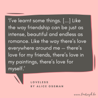 Loveless by Alice Oseman {Quote It Wednesday}