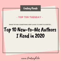 Top 10 New-to-Me Authors I Read in 2020