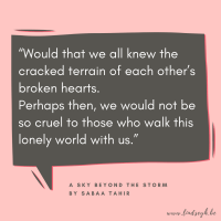 A Sky Beyond The Storm by Sabaa Tahir {Quote It Wednesday}