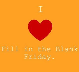 Oh Happy (Fri)Day!