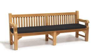 Outdoor Large Bench Cushion 24m Lindsey Teak