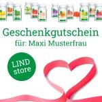 Geschenk Gutschein Per Post Lindstore
