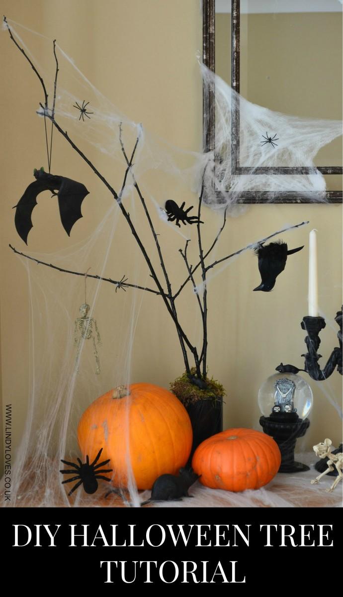 Spooky Halloween tree tutorial