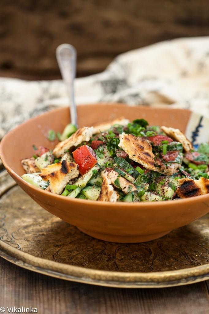 Vikalinka - Fattoush Salad