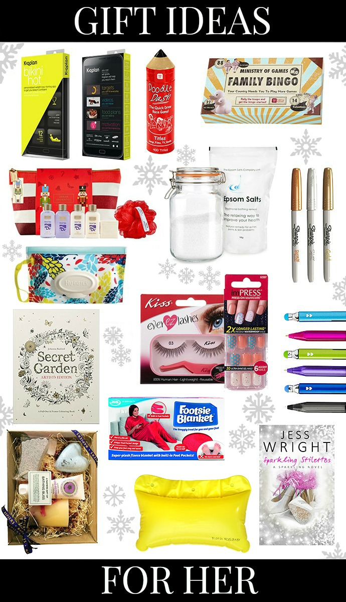 GIFT IDEAS FOR HER UNDER £20 - Lindy Loves