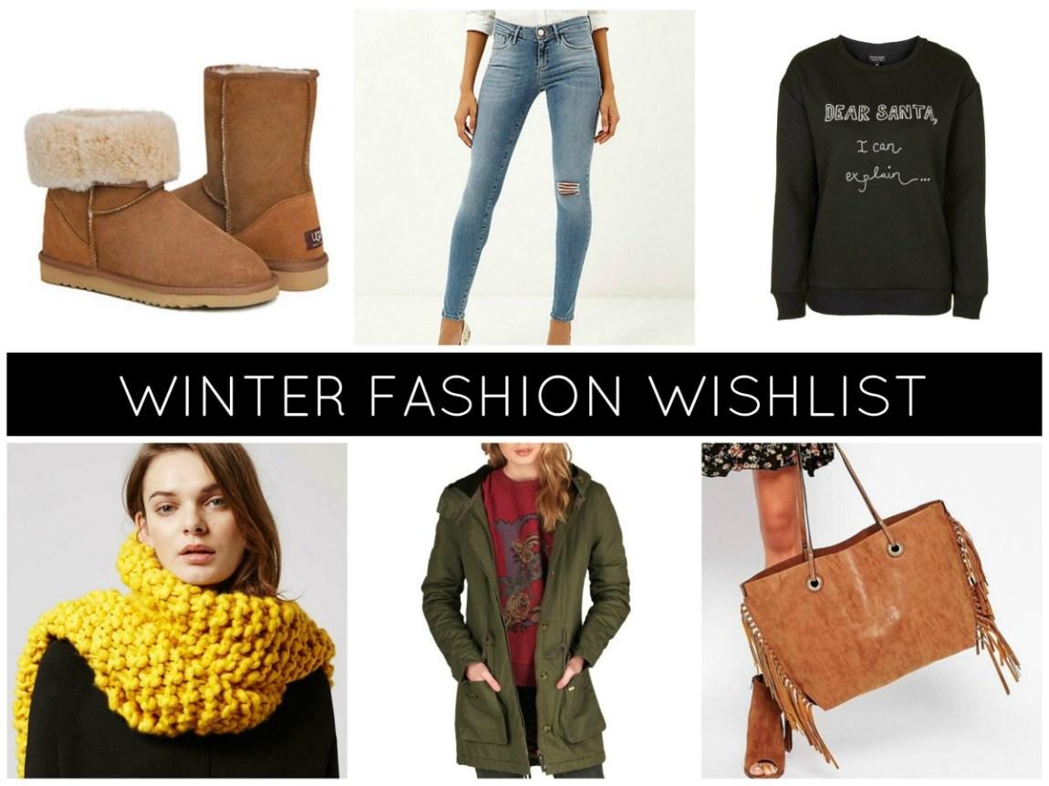 Winter Fashion Wishlist 2015