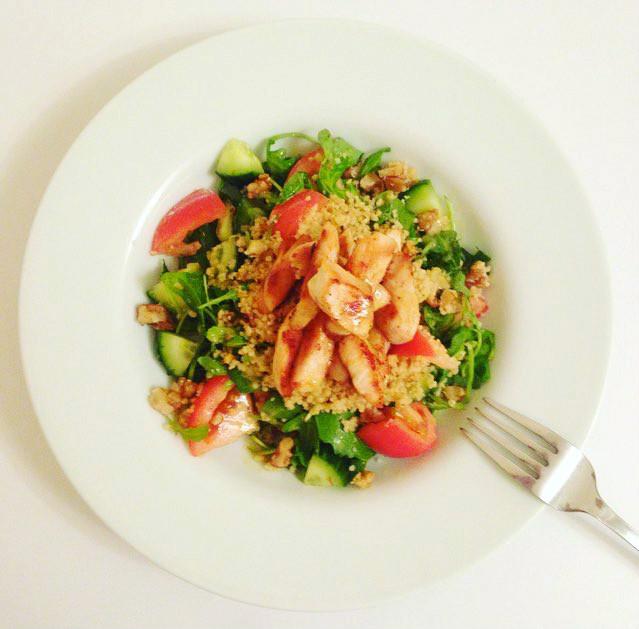 Chicken Couscous Salad