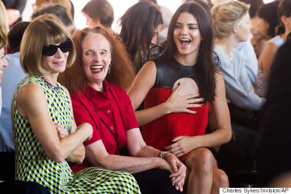 Kendall Jenner, Grace Coddington, Anna Wintour