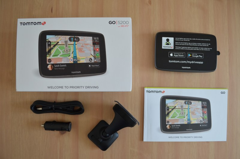 TomTom GO 5200 Content - Review