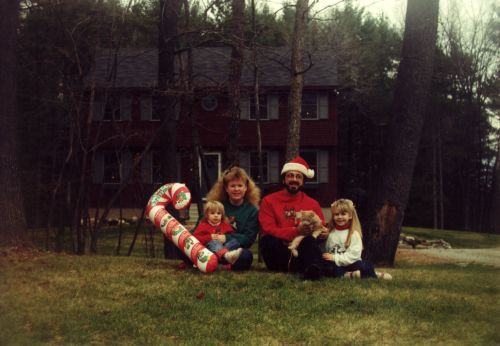Lindsay's Look - Christmas card 1991