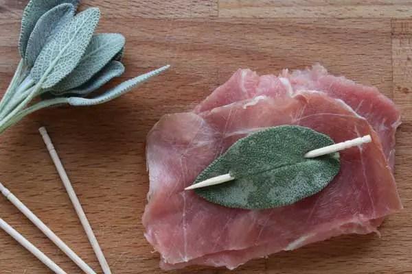 scalopine alla romana préparation