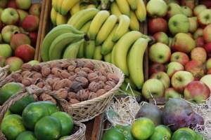 Fruits au marché bio