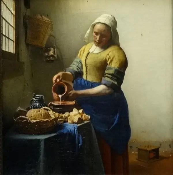 J. Vermeer - La laitière