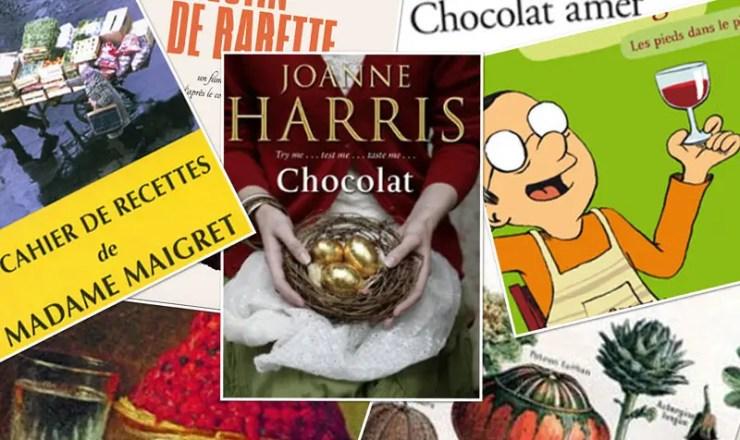 Bandeau Livres, films, cuisine
