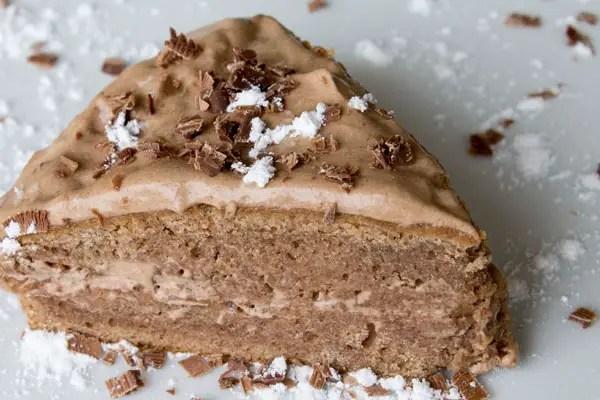 gâteau moelleux aux châtaignes & mousse aux marrons – line