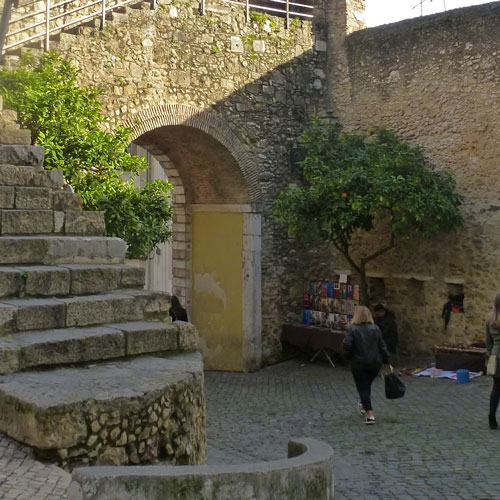 Porta Santa Cruz, Castelo S.Jorge