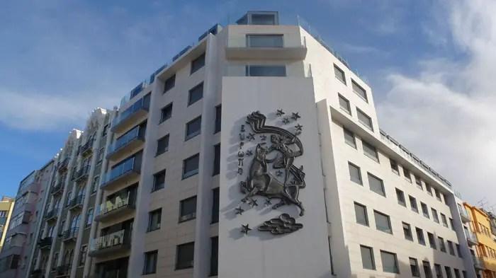 Edifício Europa, Campo de Ourique, Lisboa