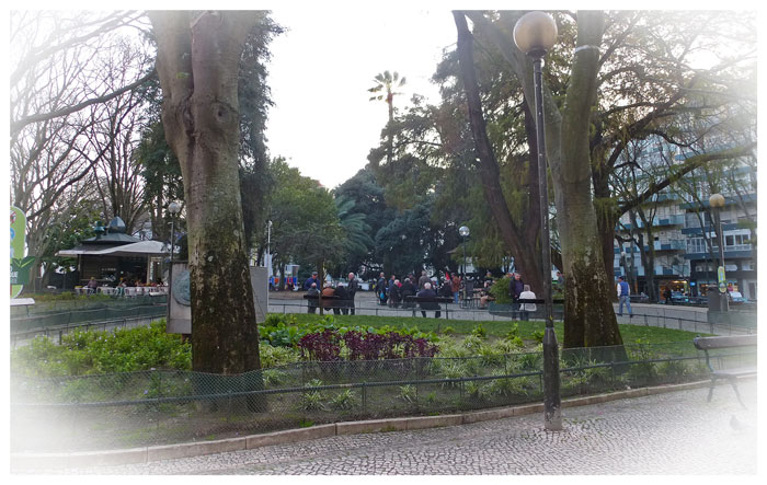Jardim da Parada, Lisbonne