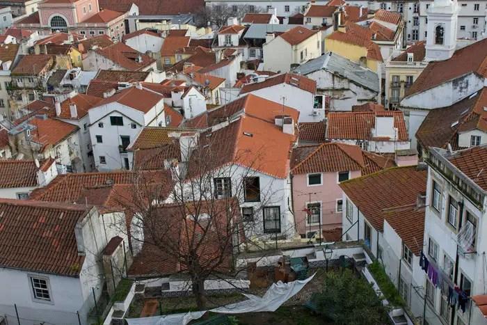 maisons d'Alfama
