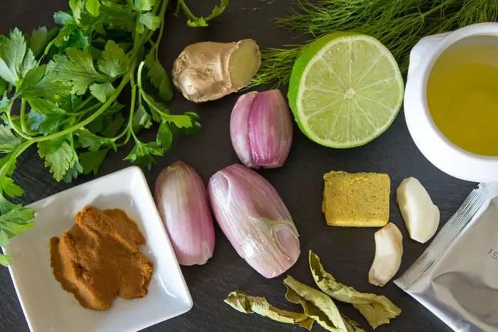 Aromates et parfums pour le bouillon