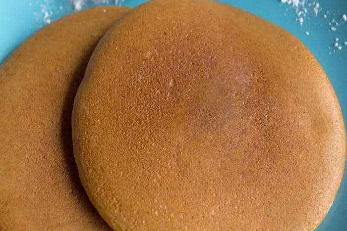 Petites pancakes moelleuses