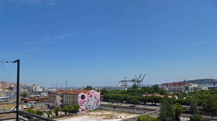 Lisbonne depuis Lx-Factory