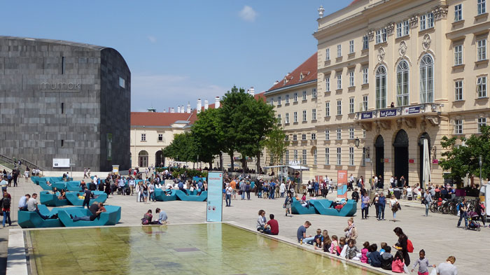 MuseumsQuartier Wien (MQ)