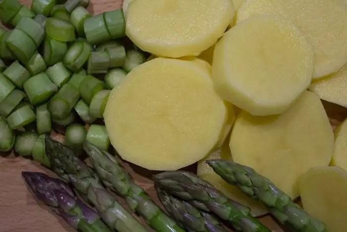 Préparer les légumes de l'écrasé